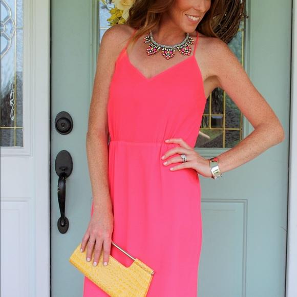 J. Crew Dresses & Skirts - J Crew Pink Maxi Dress